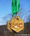 Conquer the Trails, Trail Mark, Woodland Art, laser engraved, custom awards, medallions, medals, trail race